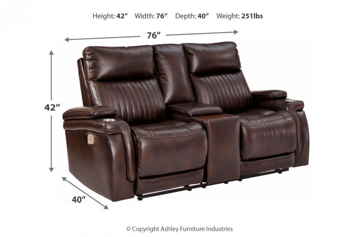 Picture of Team Time Reclining Power Loveseat
