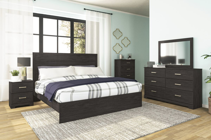 Belachime King Size Bed