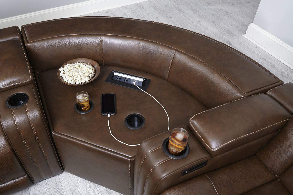 Picture of Backtrack Reclining Power Sectional