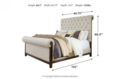 Picture of Hillcott Queen Size Bed