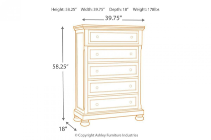 Picture of Flynnter Chest of Drawers