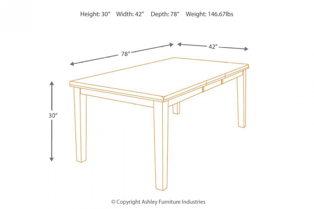 Picture of Ralene Dining Table