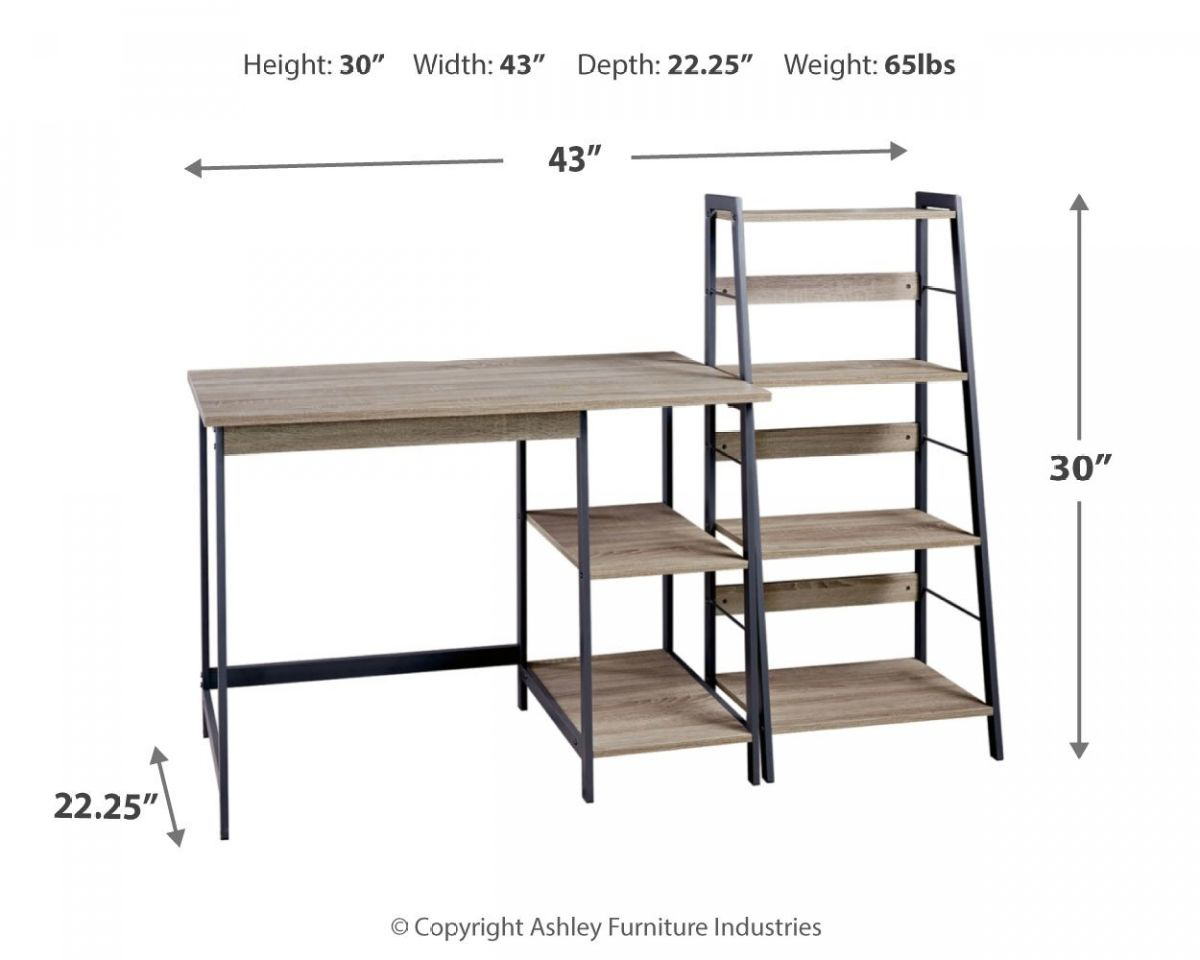 Picture of Soho Desk and Shelf