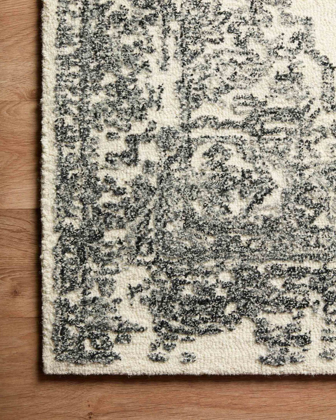 Picture of Annie White/Black Large Rug