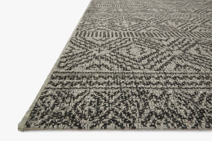 Picture of Warwick Silver/Black Medium Rug