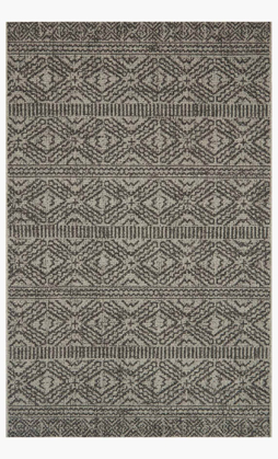 Picture of Warwick Silver/Black Rug