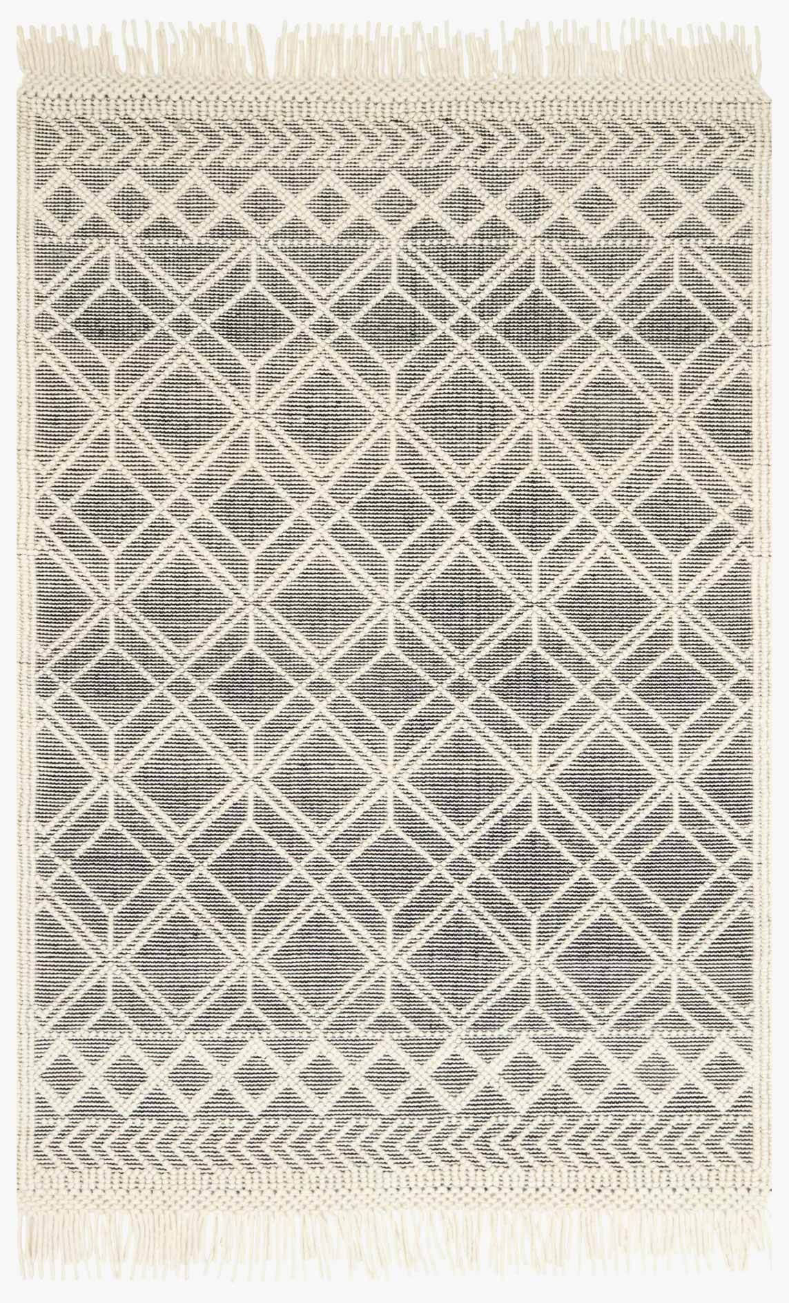 Picture of Holloway Black/Ivory Rug