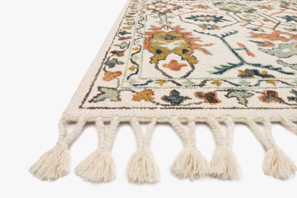 Picture of Kasuri Ivory/Tuscan Clay Rug