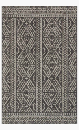 Picture of Warwick Black/Silver Rug