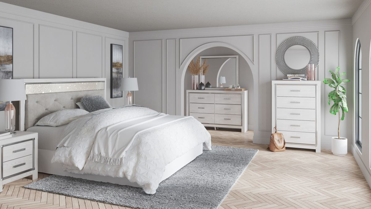 Picture of Altyra King/Cal-King Size Headboard