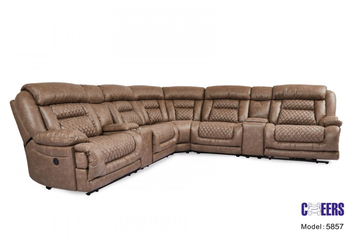 Picture of Reclining Power Sectional