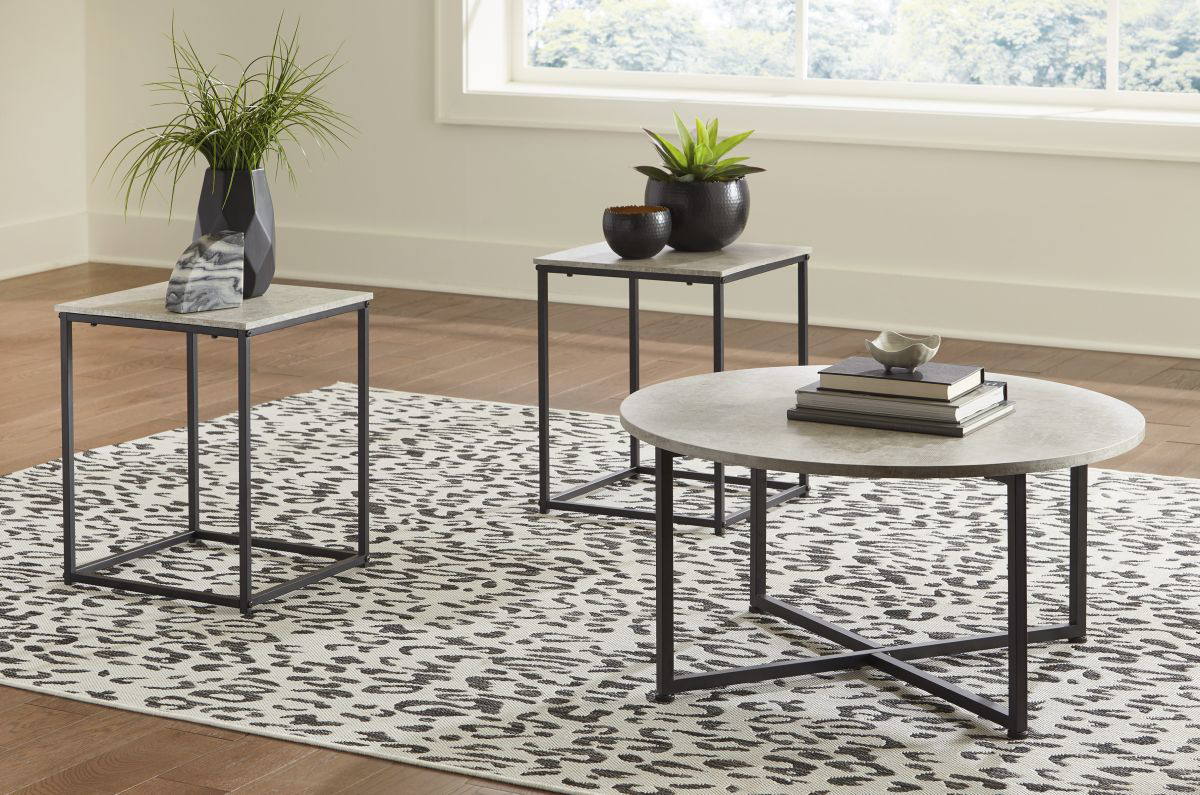 Picture of Lazabon 3 Piece Table Set