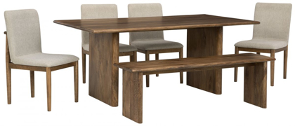 Picture of Isanti Table, 4 Chairs & Bench
