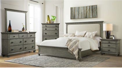 Picture of Crawford King Size Bed