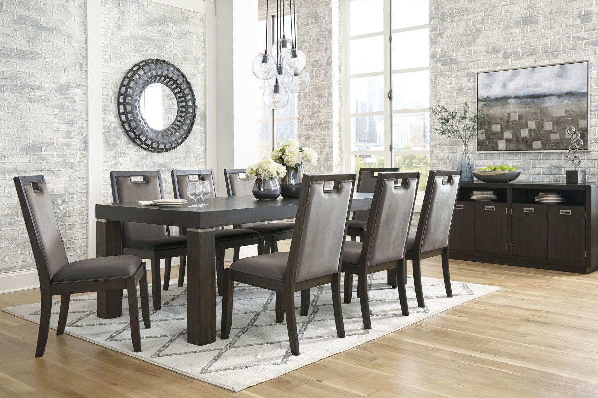 Picture of Hammis Table & 8 Chairs