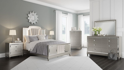 Picture of Chevanna Queen Size Bed