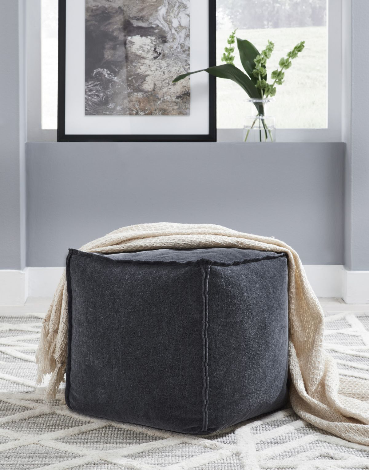 Picture of Moriah Pouf Ottoman