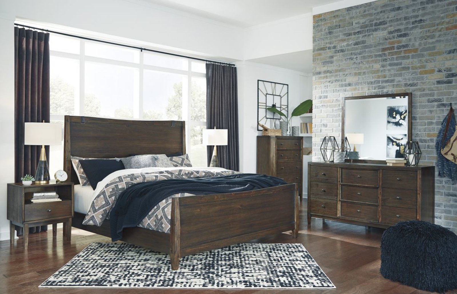 Picture of Kisper 5 Piece King Bedroom Group