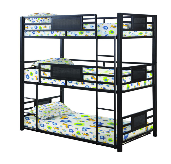 Picture of Coaster Triple Bunkbed