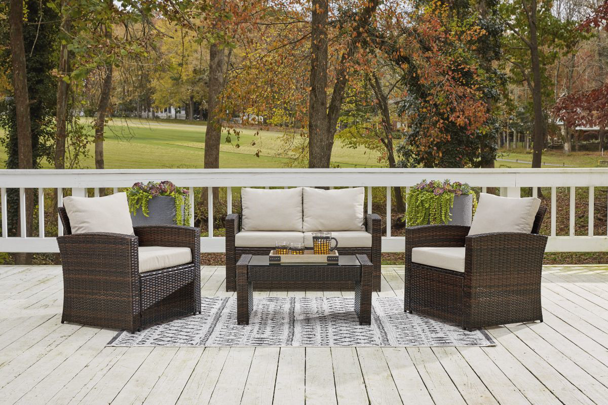 Picture of East Brook Patio Loveseat with Table