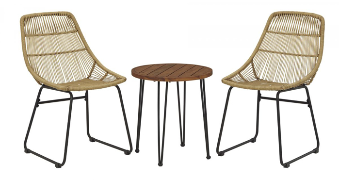 Picture of Coral Sand Patio Table & 2 Chairs