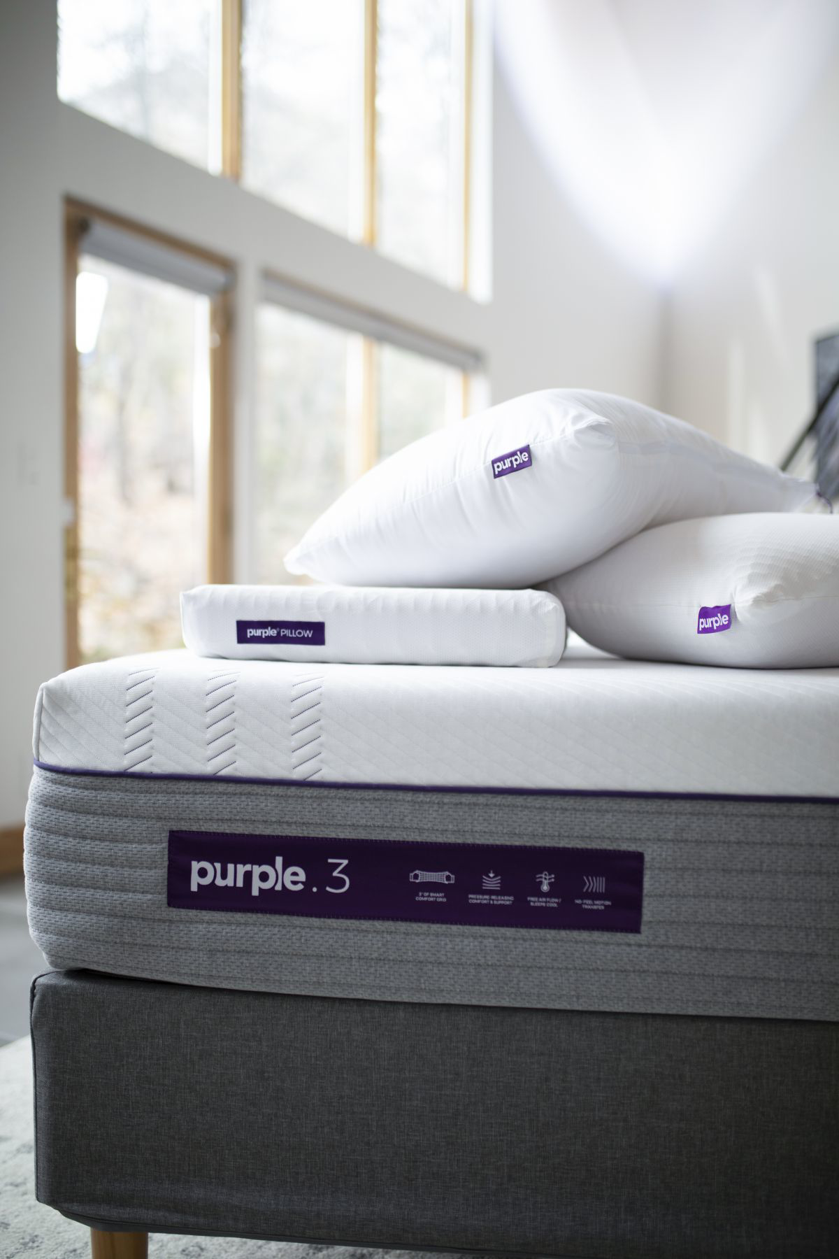 Picture of Purple 3 Hybrid Cal-King Mattress