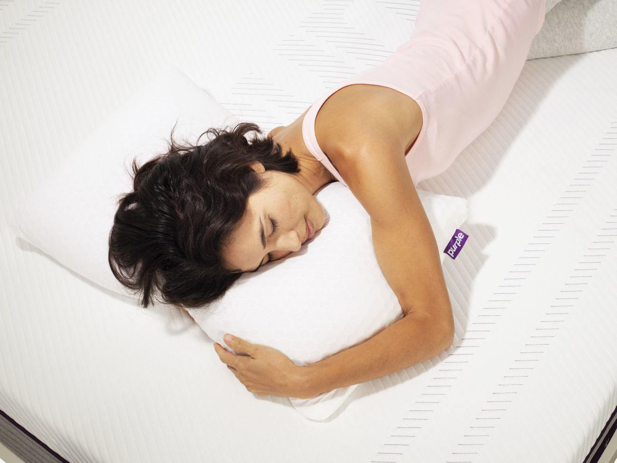 Picture of Purple Harmony High Profile Pillow