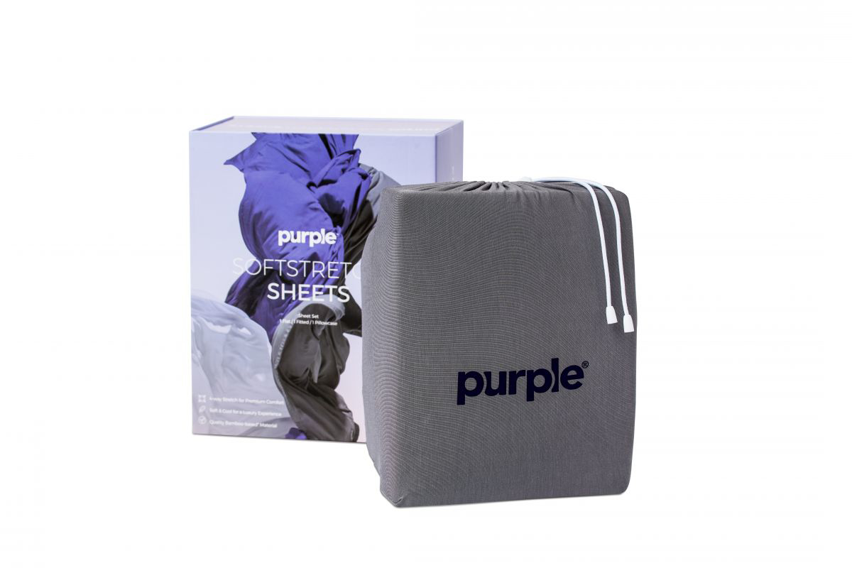 Picture of Purple SoftStretch Twin/XL Sheets
