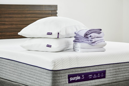 Picture of Purple SoftStretch Twin/Twin XL Sheets