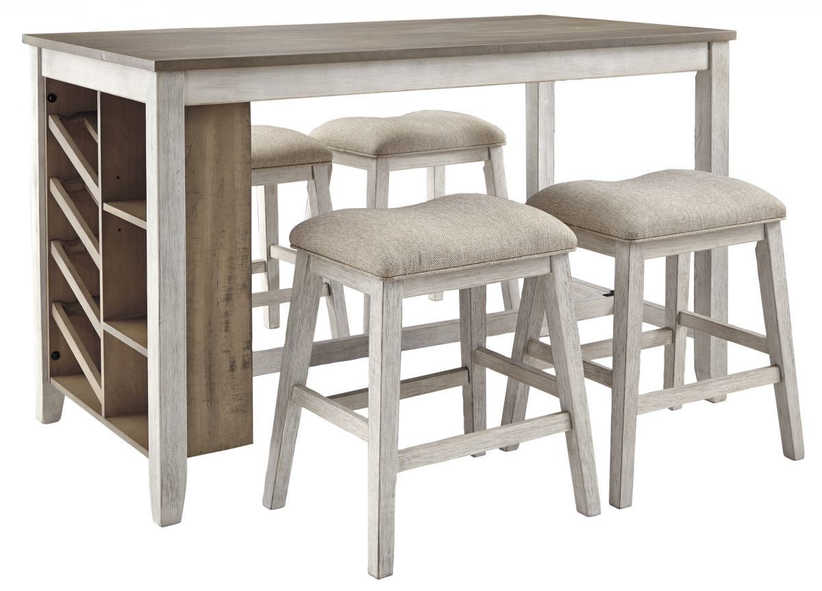 Picture of Skempton Pub Table & 4 Stools
