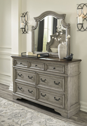 Picture of Lodenbay Dresser & Mirror