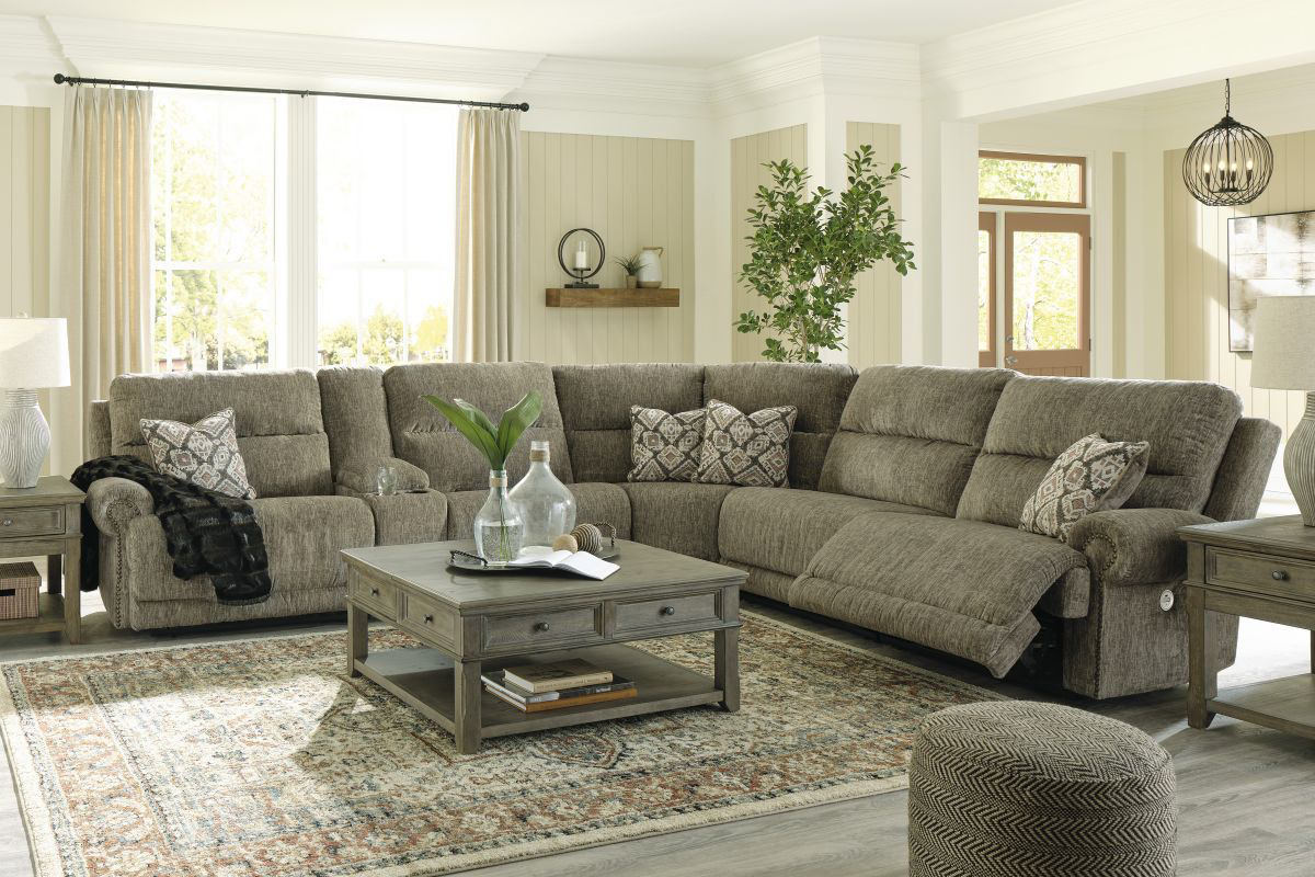 Picture of Lubec Reclining Power Sectional