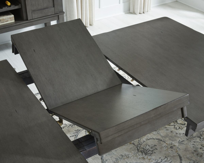 Picture of Hallanden Table, 4 Chairs & Bench