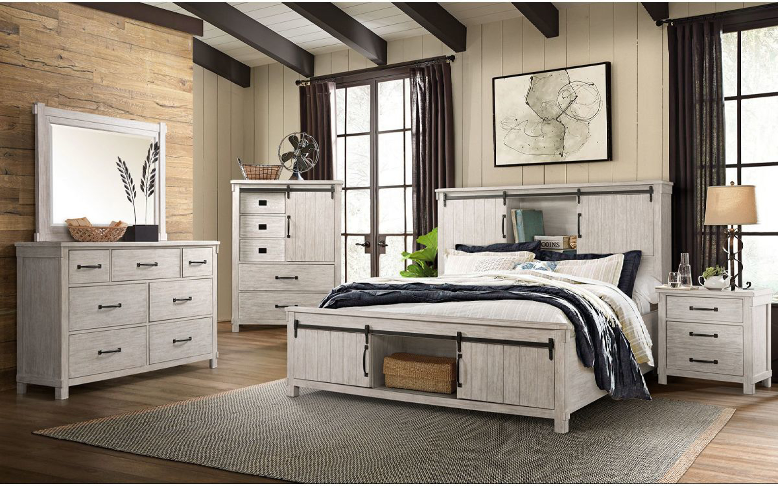 Picture of Scott 5 Piece King Bedroom Group
