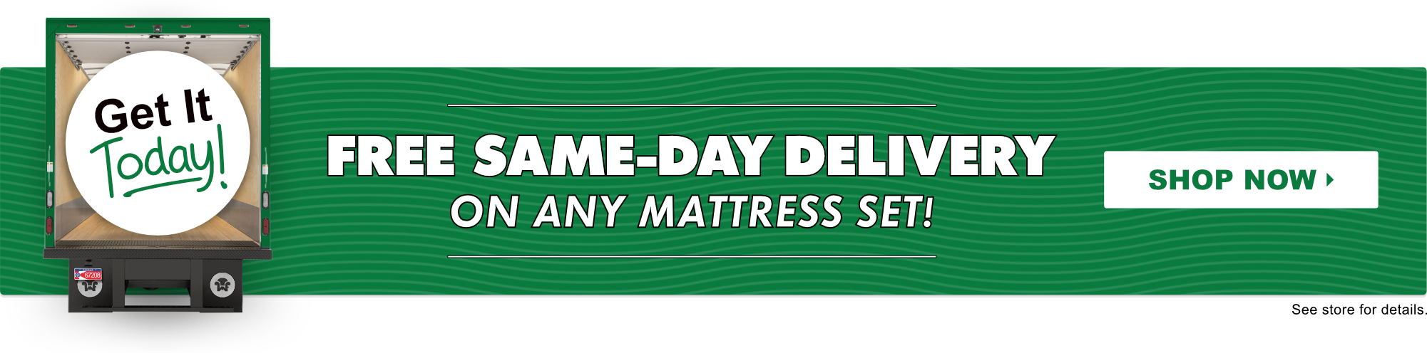 Same-Day Mattress Delivery in Wichita