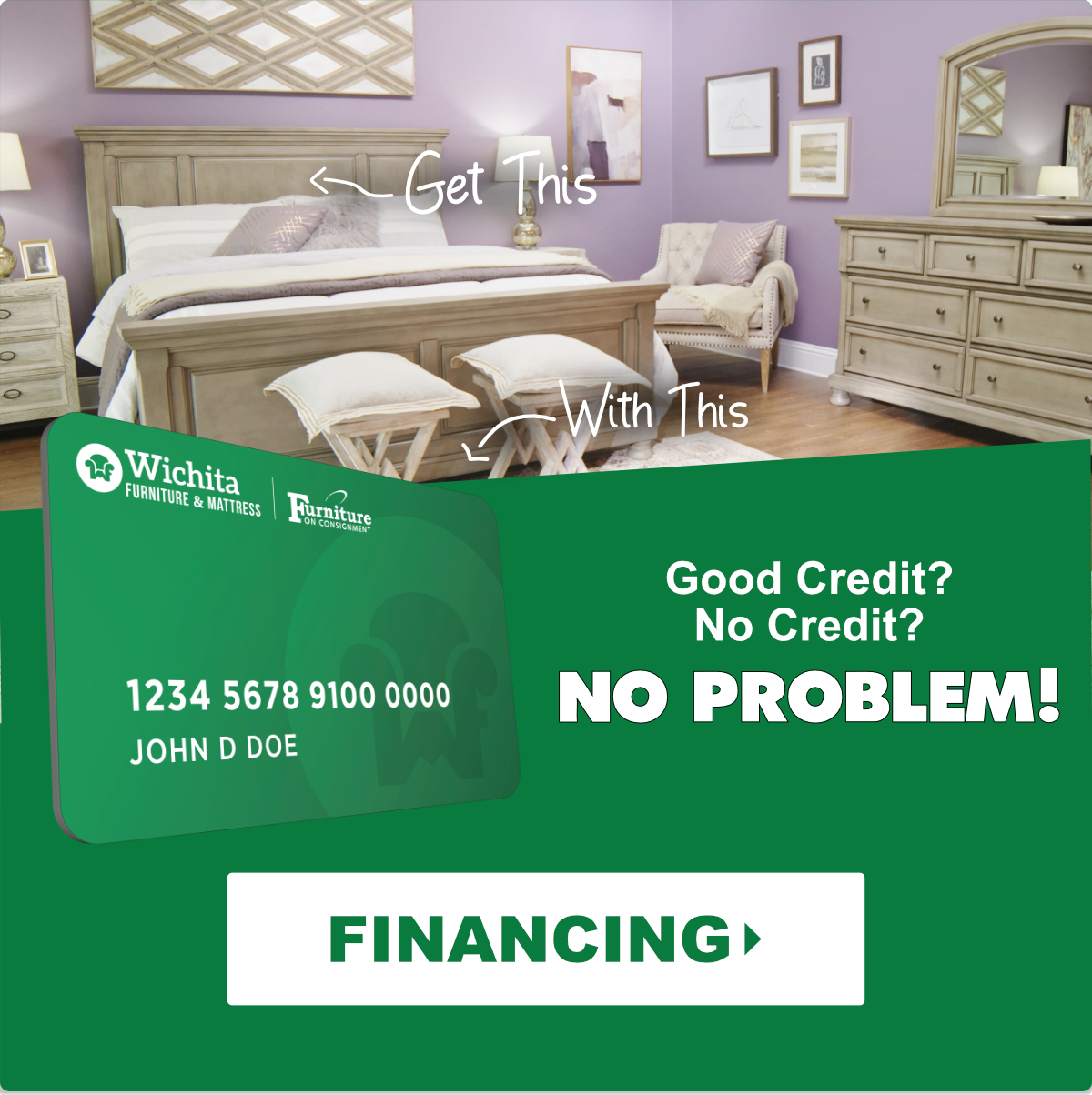 Financing at Wichita Furniture & Mattress