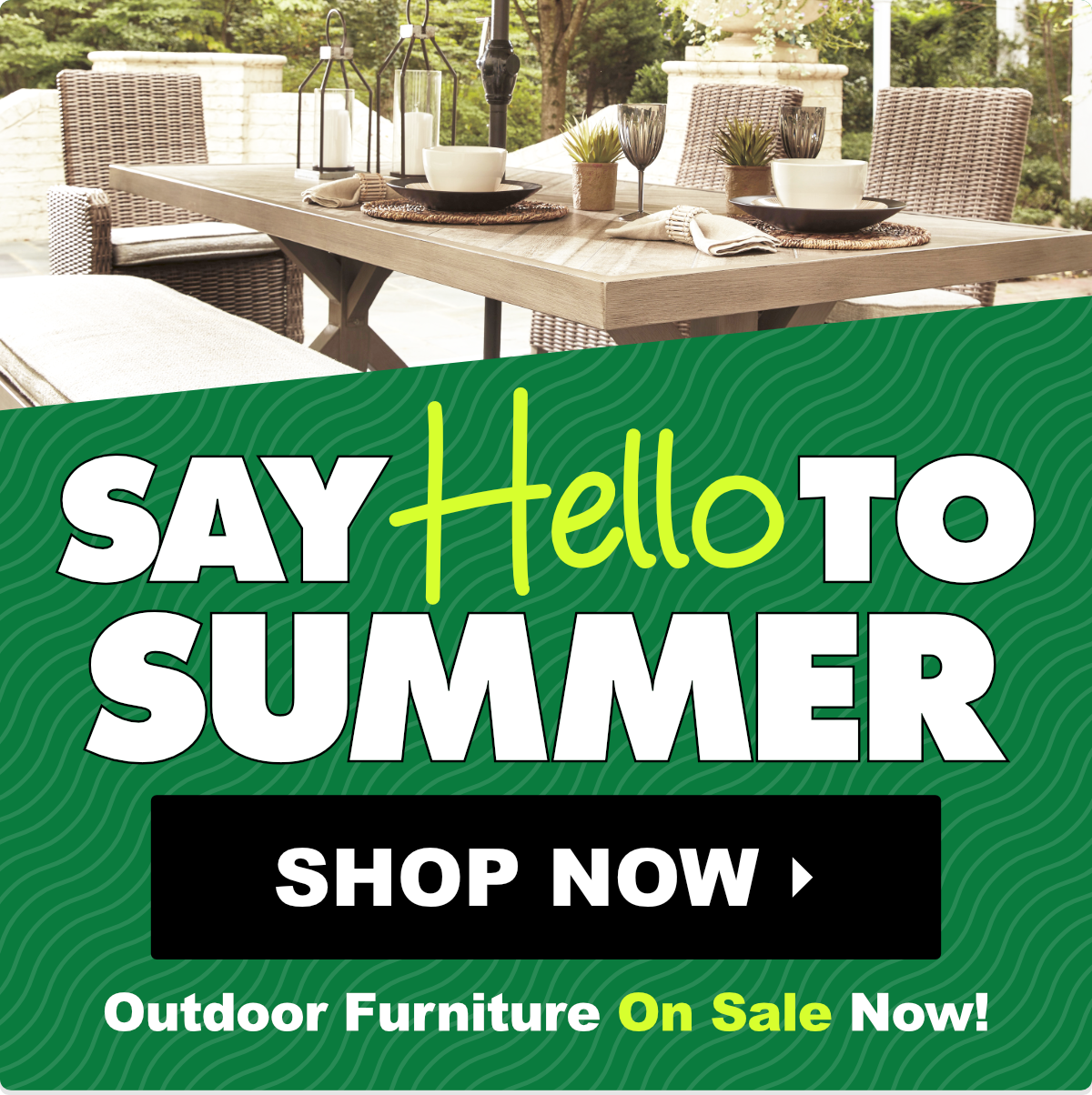 Outdoor Furniture On Sale in Wichita